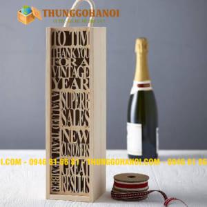 Hộp Gỗ Đựng Rượu Vang giá rẻ Uy Tín Hà Nội