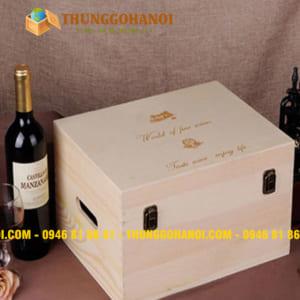 Hộp đựng rượu, hộp rượu da, hộp rượu gỗ, phụ kiện rượu