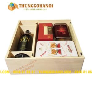 Sản xuất hộp rượu gỗ | Hộp gỗ đựng rượu tại Tp.HCM