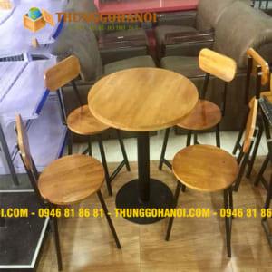 Bàn ghế cafe khung sắt - xuong ban ghe cafe