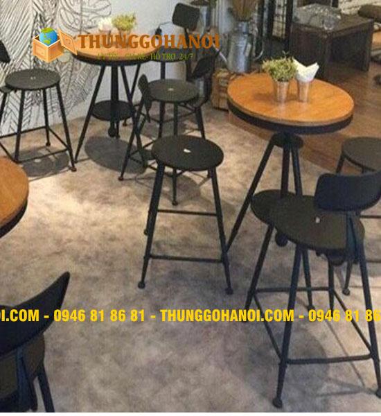 Mẫu Bàn Ghế Quán Cafe (Sofa - Gỗ - Khung Sắt - Ngoài Trời)
