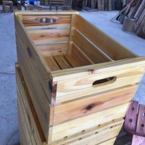 Thùng gỗ đựng rượu vang - Quà Tết Nhà Rượu
