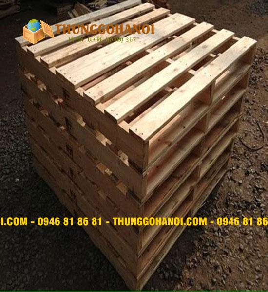 Pallet gỗ keo chuẩn Bắc Mỹ
