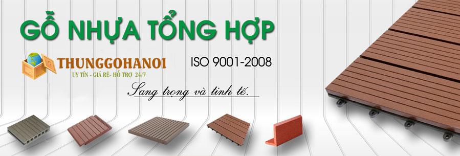 Banner thùng gỗ hà nội