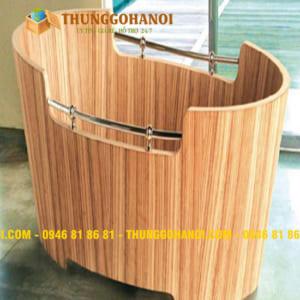 CSSX Bồn tắm gỗ, chậu gỗ - THÙNG GỖ Hà Nội chất lượng uy tín
