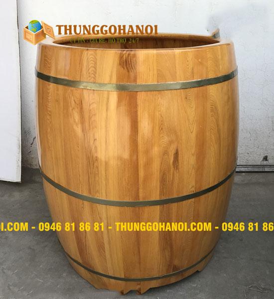Bồn tắm gỗ vừa Xông vừa Ngâm - Bồn Tắm Gỗ Hà Nội