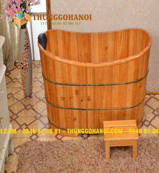 Bồn tắm gỗ, thùng tắm gỗ cao cấp giá rẻ tại Hà Nội