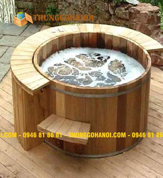 Cửa hàng bán Bồn tắm gỗ giá rẻ tại Hà Nội