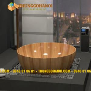 Bồn tắm gỗ mít Giá bán - Bồn Tắm Gỗ Hà Nội Đẹp 2019