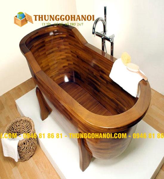 Địa chỉ bán Bồn tắm gỗ tròn tại Hà Nội