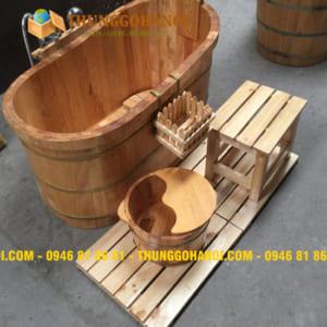 Nơi mua bồn tắm gỗ chính hãng, chất lượng, giá rẻ nhất