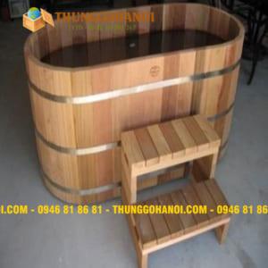 Bán Bồn tắm gỗ Pơ mu,gỗ thông giá rẻ,Free ship