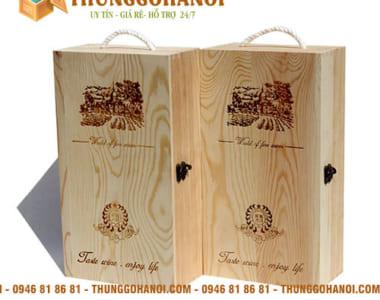 Địa chỉ bán hộp gỗ đựng rượu Vang vừa rẻ vừa đẹp?