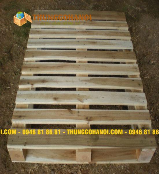 Pallet gỗ cũ keo chuẩn Bắc Mỹ