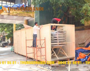 Dịch vụ đóng thùng gỗ giá rẻ chuyển hàng giá rẻ tại Hà Nội