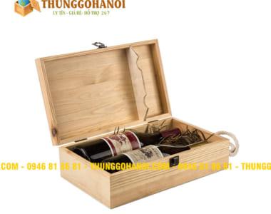 Cung cấp Hộp Gỗ Đựng Rượu tại Hà Nội theo Yêu Cầu giá rẻ - Uy Tín