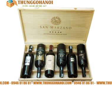 Điểm bán và sản xuất Hộp đựng rượu gỗ vang cao cấp tại HCM