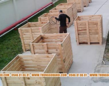 Thanh lý thùng gỗ pallet | Bán thùng gỗ Pallet giá rẻ | Giao hàng toàn quốc