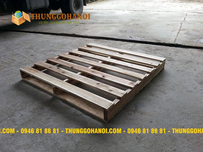 Giá pallet gỗ tại hà nội - Gỗ thông pallet giá rẻ Hà Nội