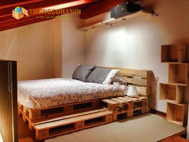 Báo Giá giường gỗ pallet giá thanh lý rẻ nhất Hà Nội