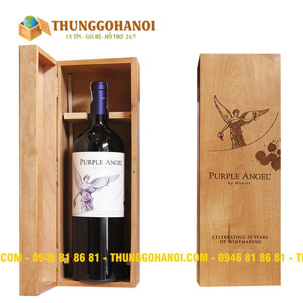 Điểm bán và sản xuất Hộp gỗ đựng rượu cao cấp tại Bắc Ninh