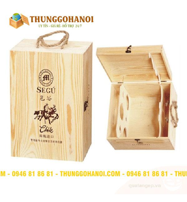 Hộp gỗ sản xuất theo dây chuyền công nghệ cao chuyên nghiệp