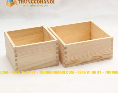 Hộp gỗ quà tặng Mới giá rẻ nhất thị trường - sản xuất Hộp gỗ quà tặng