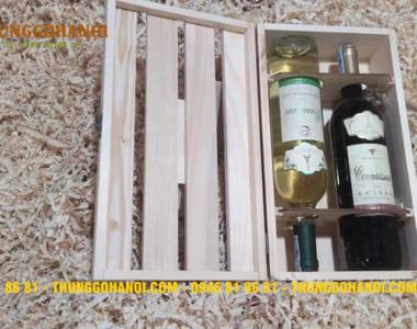 Địa chỉ bán Hộp gỗ đựng rượu quà tặng giá rẻ tại Hà Nội & TP.HCM