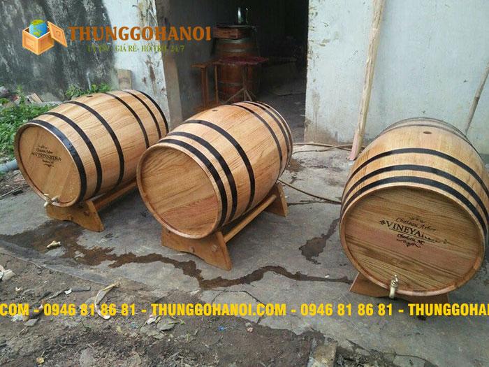 sản phẩm được làm thường làm từ thùng rượu gỗ Sồi cũ