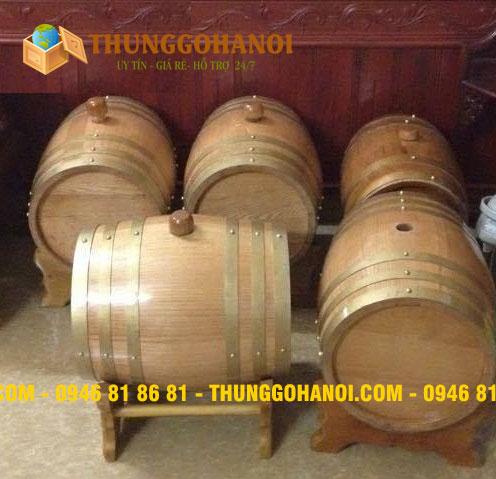 Chuyên sản xuất thùng trang trí bằng gỗ Thông, Sồi nhiều mẫu mã và kích cỡ.