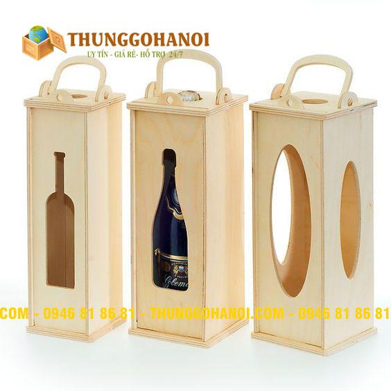 Sản Xuất Hộp Gỗ Đựng Rượu theo Yêu Cầu giá rẻ
