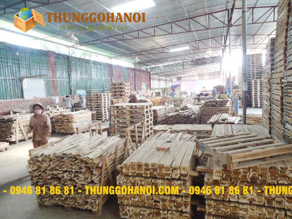 Sản xuất pallet gỗ - Sản xuất pallet, thùng gỗ theo yêu cầu